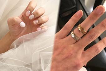 내 손에 샤넬 반지에 웨딩 네일까지.. 실감나네!