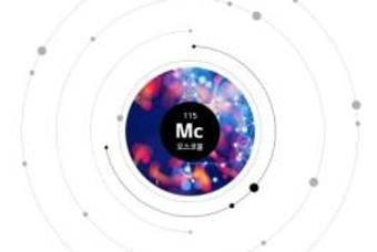 강한 방사성 원소 원자번호 115번 '모스코븀(Mc)'