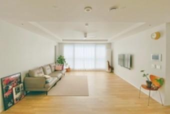 신혼때 가구 그대로, 30평대 아파트 거실 스타일링