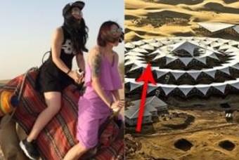 '알고보니 한국인 작품' 사막 한가운데 中 호텔