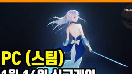 PC 스팀 신규게임 발매