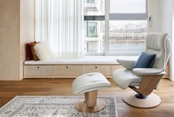 공간 활용도를 놓인 집, 건축가가 사는 아파트