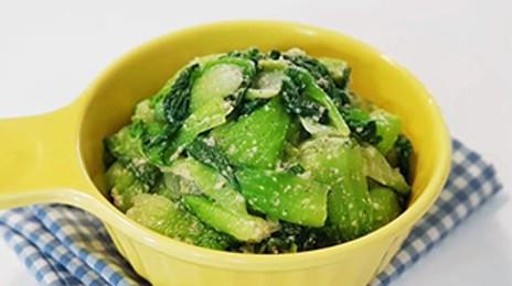 고소해서 더 맛있는 청경채 들깨무침 만들기