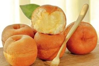 나주명물 배와 햅쌀로 만든 달콤한 슈크림빵