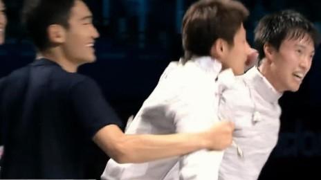 '원우영 해설이 펑펑 울 수 밖에 없었던 이유' 2012년 런던, 금메달의 순간 [단체 결승] [SBS]