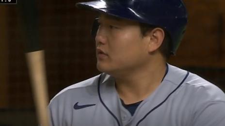 """""""공을 아주 쉽게 공략해냈습니다"""" 최지만, 한국인 최초 WS 안타"""