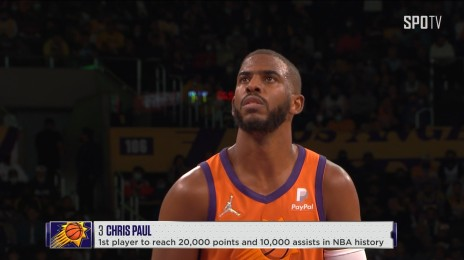 'NBA 최초' 2만 득점-1만 어시스트 달성하는 폴