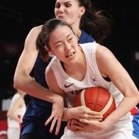[농구] 한국 여자농구, 세계 8위 세르비아에 4점 차 분패