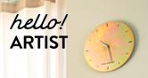 헬로!아티스트 작가가 제작한 시계 전시관에 있는 아트상품을 가질 수 있는 기회!
