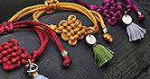 해피빈 공감펀딩 미혼모가 만드는 팔찌 매듭 꽃과 원석 비즈로 아이와 함께 걷는 꽃길