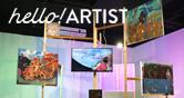 헬로!아티스트 시각예술가들과의 만남 그림과 영상이 주는 환상 세계. 박경종작가