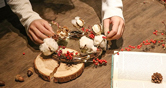 네이버 해피빈 펀딩 손으로 만드는 꽃 장식 농부의 꽃으로 미리미리 연말 분위기를 내보세요!