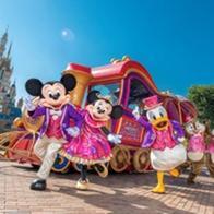 홍콩의 크리스마스에는 '디즈니'가 내린다