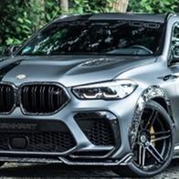 근육질 괴물, BMW X6 M 컴페티션 만하트