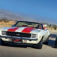캘리포니아에서 만난 카마로 SS와 머스탱 GT500